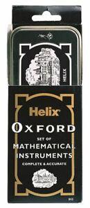Oxford Maths Set Small Geometry Kit Mathematical Instruments School University