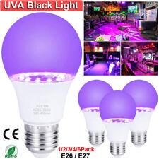 9W UV LED Black lights Bulb A19 E26 E27 UV Blacklight Bulb UVA Glow in The Dark