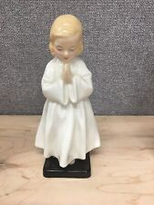 "Royal Doulton ""Bedtime"" Figurine - Young Girl Praying - Hn 1978"