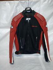 Joe Rocket  Mesh Motorcycle Jacket Red/Black Men's M. Armor Spine Elbow Shoulder
