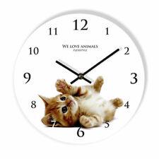Acrylic Animals Quartz (Battery Powered) Wall Clocks