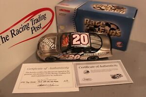 2004 Tony Stewart Home Depot Brushed Metal 1/24 Action FRFO Diecast Autographed