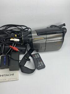 Hitachi VM-H835LA 8mm Video Camcorder Complete Bundle - EXCELLENT CONDITION