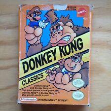 DONKEY KONG CLASSICS NINTENDO NES VERSIONE ITALIANA
