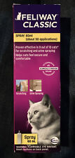 New-Feliway Classic 60ml Spray-Helps Reduce Stress/Scratching-Free Shipping