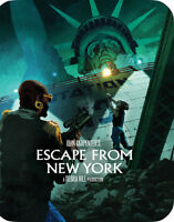 Escape From New York [New Blu-ray] Ltd Ed, Steelbook, Widescreen, 2 Pack