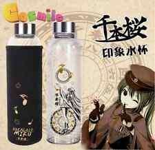 Vocaloid Hatsune Miku Senbonzakura Sakura Clear Glass Cup Milk Mug Sa