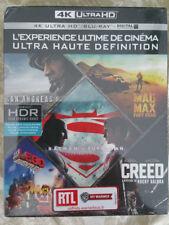 Batman Superman San Andreas Mad Max Lego Creed 4K Ultra UHD Collection Blu-ray