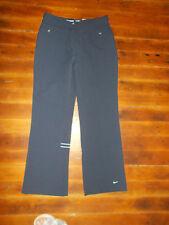 Nike 71 Nylon Track Pants Size 8 - 10 M Medium Navy Blue Ankle Zipper