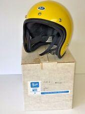 NOS Vintage Retro Buco Safety Motorcycle Harley Helmet w/ original Box not Shoei