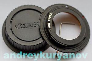 M42–Canon adjustable + AF confirm dandelion chip original. All Canon EOS. NEW.