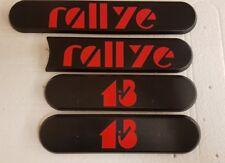 New Reproduction Peugeot 205 1.3 Rallye Side Badges Black