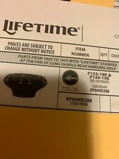 LIFETIME COOKWARE REPLACEMENT COVER KNOB.  Used KA04KN23900