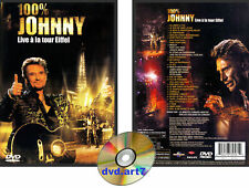 DVD : JOHNNY HALLYDAY : 100 % JOHNNY LIVE À LA TOUR EIFFEL
