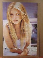 Jessica Simpson Hot girl man cave car garage Vint Poster 1999 7336