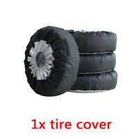 "Car SUV Tote Spare Tire Wheel Bag Tyre Storage Cover Accessories 13-19"" 65*37cm"