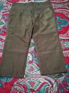 Duxbak Hunting Pants Men's Vintage Reinforced Heavy Duty Brush Guard 46 x 27
