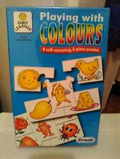 Early Learner Playing With Colours Frank Educational Aides