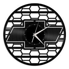 Chevrolet Vinyl Wall Clock Unique Gift for Car Lovers Home Room Decoration