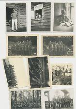 La raccolta fotografica 2.wk SOLDATI WEHRMACHT misto 10 pezzi (j644)