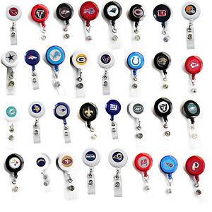retractable badge reel lanyard NFL