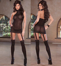 Plus Size Lingerie XL-2X-3X Sexy Clothes intimate Crossdresser Lingere Dress