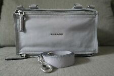 Sale! Authentic Givenchy Medium Goatskin Pandora Bag Pearl Grey