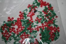 Lego Bag Of Red Flowers New 50 Plus pieces