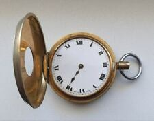 Very Rare Antique Swiss Gold-Plated Pocket 'men's watch - NOT WORKS
