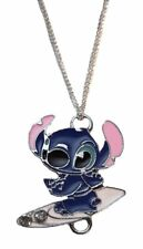 """Disney's Lilo and Stitch Surfing Pendant Necklace with 17"""" Chain"""