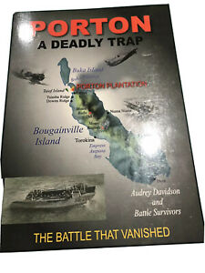 PORTON - A Deadly Trap: The Battle That Vanished by Audrey Davidson...SIGNED