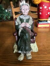 Sarah's Attic Mama Santa 1989 Collectable Figurine