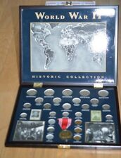 Boxed Collection of WWII Coinage-Includes Coinage Issued During WWII-READ!