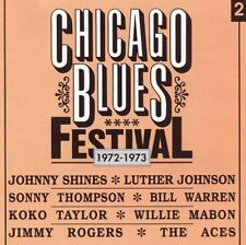 Various Artists - Chicago Blues Festival Vol.2 1972-1973 - Black & Blue New CD