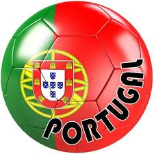 decal sticker worldcup car bumper flag team soccer ball foot football portugal