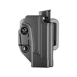 Orpaz G17 Holster Compatible with Glock 17 Holster, Level II OWB Belt Holster
