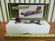 Purple Bauer Built Ironman Pulling Sled By SpecCast 1/64th Scale >