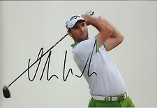 Oliver WILSON SIGNED AUTOGRAPH Golf Photo AFTAL COA Dunhill Winner St Andrews