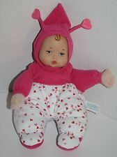 "Madame Alexander Little Baby Doll 11"" Hearts Plush Vinyl Stuffed 2011 Soft Toy"