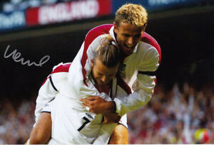 *LOW PRICE* HAND SIGNED ENGLAND 12x8 PHOTO 2003 : PHIL NEVILLE