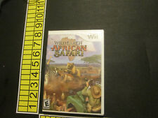 Wild Earth: African Safari (Nintendo Wii, 2008)
