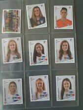 PANINI STICKERS FULL SET UNITED STATES WOMEN'S FRANCE 2019  MORGAN RAPINOE LLOYD
