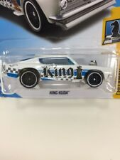 New White Hot Wheels KING KUDA PLYMOUTH BARRACUDA Die Cast Metal Car Collectible