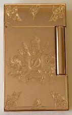 S.T. Dupont 2014 Fred Krill Blazon Ligne 2 Premium Rose Gold Lighter 016911, NIB