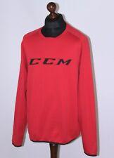 CCM mens ice hockey sport training red jumper Size L