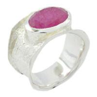 zarte  indianruby  edelsteine massiv 925  silber ring  handgemacht geschenk de