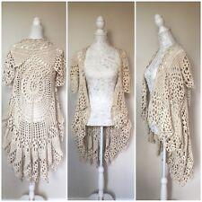 Stevie Nicks Style Lotus Mandala Boho (Sleeveless) Jacket / Vest - S/M/L/Plus
