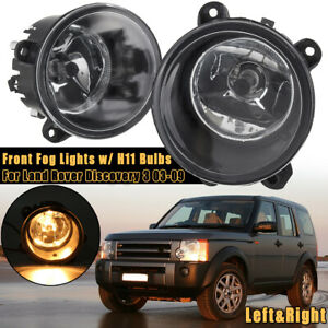 Front Fog Light Lamps For Land Rover Discovery 2 3 RANGE ROVER Sport L322
