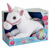 Rainbow Dreams Plush - Press the magic star to create magical sounds and lights!