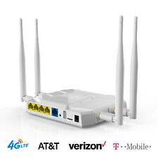 AT&T 4G LTE T-Mobile Router SIM Card Verizon 1200Mbps Wireless Hotspot WiFi